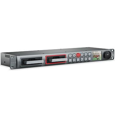 Blackmagic Design HyperDeck Studio Pro 2 4:2:2:2 Grabador SD/HD con dos ranuras para SSD y puerto Thunderbolt