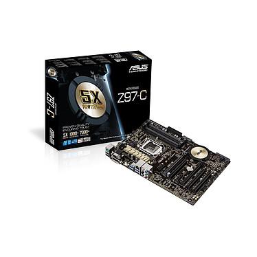 ASUS Z97-C Carte mère ATX Socket 1150 Intel Z97 Express - SATA 6Gb/s - M.2 - USB 3.0 - 2x PCI-Express 3.0 16x