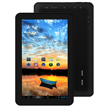 "MPMAN MPDC1006 4 Go Noir Tablette Internet - ARM Cortex-A7 1.5 GHz 1 Go 4 Go 10"" Wi-Fi N Webcam Play Store Android 4.2"