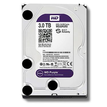 WD Purple Videosurveillance 6 To SATA 6Gb/s pas cher