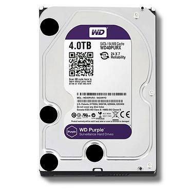 WD Purple Videosurveillance 4 To SATA 6Gb/s pas cher