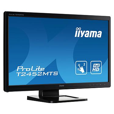 """iiyama 23.6"""" LED Tactile - ProLite T2452MTS-B4 pas cher"""