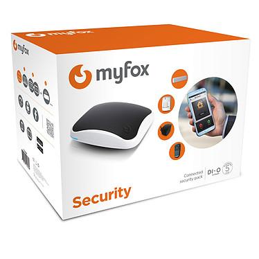 Myfox Pack HC2 Security Unidad de control multifunción para videovigilancia y domótica + sensor anti-intrusión + detector de movimiento + sirena interior + mando a distancia