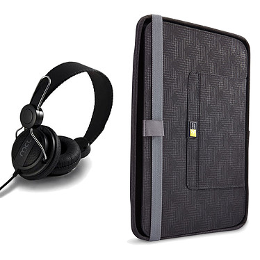 Case Logic CQUE-3110 + casque OFFERT !