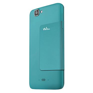 Avis Wiko Etui Folio Stand Turquoise Wiko Rainbow (version 3G+)