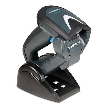Datalogic Gryphon GM4400 (coloris noir) + station de charge + câble USB Lecteur de codes barres sans fil (radio) à technologie Area Imager 2D + station de charge + cordon USB