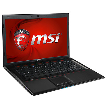 "MSI GP70 2QE-609XFR Leopard Intel Core i7-4720HQ 4 Go 1 To 17.3"" LED Full HD NVIDIA GeForce 940M Graveur DVD Wi-Fi AC/Bluetooth Webcam FreeDOS (garantie constructeur 1 an)"