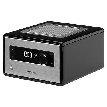 Sonoro Radio Noir Radio réveil FM USB Bluetooth