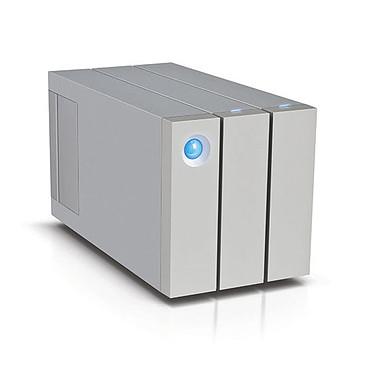 LaCie 2big Thunderbolt 2 - 12 To Système de stockage RAID professionnel haute performance à 2 disques sur ports Thunderbolt 2 et USB 3.0 (garantie LaCie 3 ans)