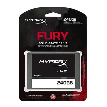 Avis HyperX Fury SSD Series 240 Go