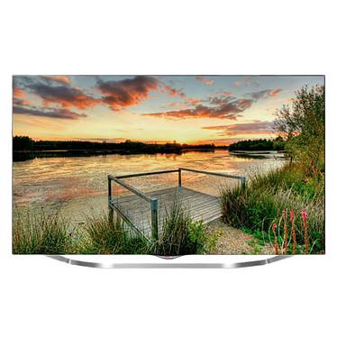 "LG 55UB850V Téléviseur LED 3D 4K 55"" (140 cm) 16/9 - 3840 x 2160 pixels - TNT et Câble HD - Wi-Fi - DLNA - UHD 2160p - 1000 Hz"