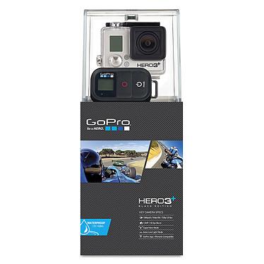GoPro HERO 3+ : Black Edition - Motorsport Caméscope HD pour sportif à mémoire flash avec Wi-Fi intégré