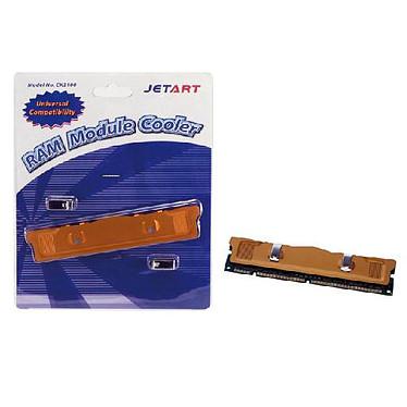 Radiateur pour barrette mémoire SD RAM / DDR RAM Dissipateur thermique en aluminium pour barrette de RAM