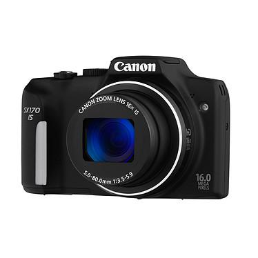Canon PowerShot SX170 IS Noir Appareil photo 16 MP - Zoom optique 16x - Vidéo HD