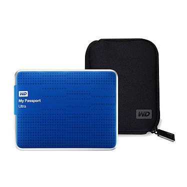 Western Digital WD My Passport Ultra 1 To Bleu (USB 3.0) + Western Digital WDBABK0000NBK