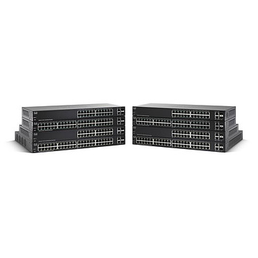 Cisco SG 220-26 Switch Small Business Smart Plus Gigabit 24 ports + 2 ports combo SFP