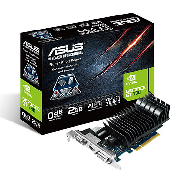 ASUS GT730-SL-2GD3-BRK - GeForce GT 730 2 Go