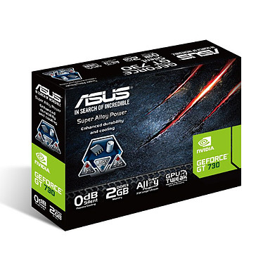 Acheter ASUS GT730-SL-2GD3-BRK - GeForce GT 730 2 Go