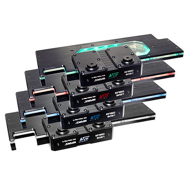 Swiftech KOMODO-NV LE Waterblock pour carte graphique NVIDIA GeForce GTX780/Ti, GTX Titan, GTX Titan Black