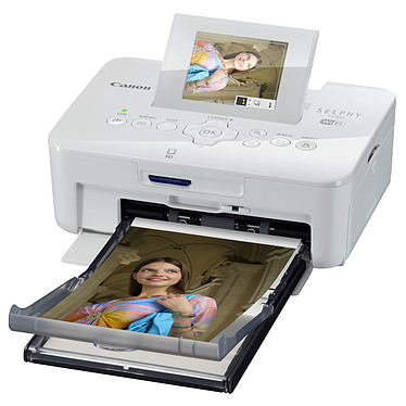 Canon SELPHY CP910 Blanche Imprimante Photo sans fil Wi-Fi - AirPrint et USB compatible Smartphone