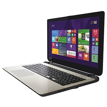 "Toshiba Satellite L50D-B-12T Gris AMD A6-6310 6 Go 1 To 15.6"" LED Graveur DVD Wi-Fi N/Bluetooth Webcam Windows 8.1 64 bits"