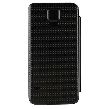 xqisit Etui Flip Batterycase Noir pour Galaxy S5 pas cher