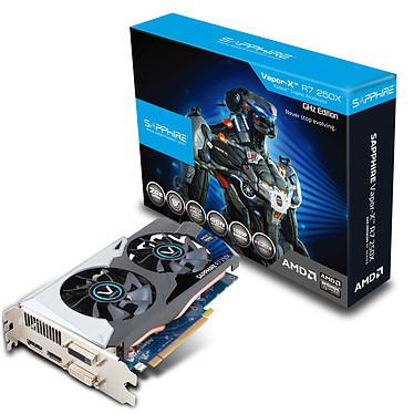 Sapphire Radeon R7 250X Vapor-X 2G GDDR5 2 Go Dual-DVI/HDMI/DisplayPort - PCI Express (AMD Radeon R7 250X)