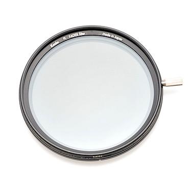 Kenko PL FADER ND3-ND400 KFAD77  Filtre ND 77 mm à densité réglable de ND3 à ND400 (coloris gris)