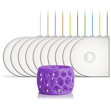 3D Systems 401418-01 - Cartouche ABS Violet pour imprimante 3D  Compatible 3D Systems CubePro/CubePro Duo/CubePro Trio