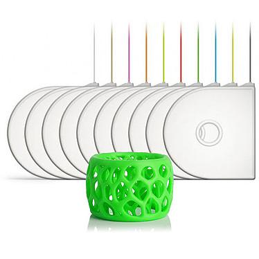 3D Systems 401397-01 - Cartouche PLA Vert fluo pour imprimante 3D Compatible 3D Systems CubePro/CubePro Duo/CubePro Trio