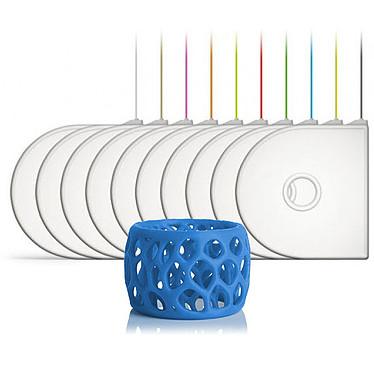 3D Systems 391144 - Cartouche PLA Bleu pour imprimante 3D  Compatible 3D Systems Cube 3