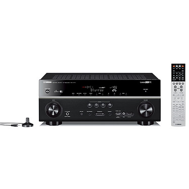 Yamaha RX-V777 Noir Ampli-tuner Home Cinéma 7.2 Wi-Fi DLNA 3D-Ready avec HDMI 2.0 4K Ultra HD MHL et Airplay