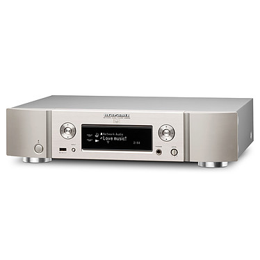 Marantz NA8005 Silver / Gold  Lecteur audio réseau DAC, USB, AirPlay, DLNA et vTuner