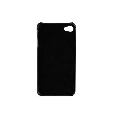 Acheter xqisit Coque iPlate iPhone 4/4S Glossy Black