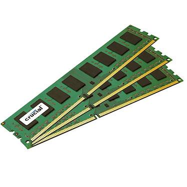 Crucial DDR3 24 Go (3 x 8 Go) 1600 MHz ECC CL11