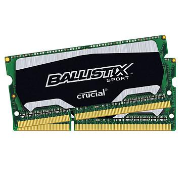 Ballistix Sport SO-DIMM 8 Go (2 x 4 Go) DDR3L 1866 MHz CL10