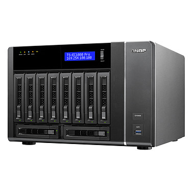 Acheter QNAP TS-EC1080 Pro