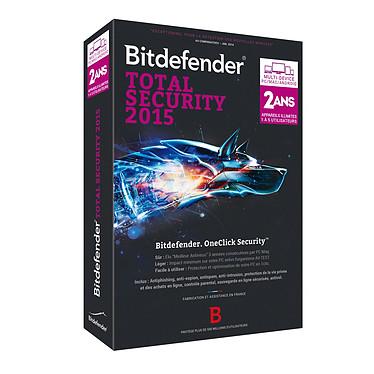 Bitdefender Total Security Multi-Device 2015 - Licence 2 Ans 5 Utilisateurs