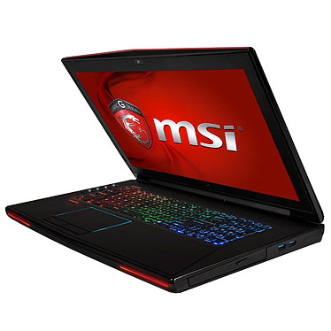 "MSI GT72 2QD-286XFR Dominator Intel Core i7-4710HQ 8 Go SSD 128 Go + HDD 1 To 17.3"" LED NVIDIA GeForce GTX 970M Graveur DVD Wi-Fi AC/Bluetooth Webcam FreeDOS (garantie constructeur 1 an)"