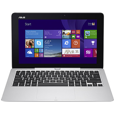 "ASUS Transformer Book T200TA-CP004H avec clavier Tablette Internet - Intel Atom Z3775 2 Go SSD 32 Go + HDD 500 Go 11.6"" LED Tactile Wi-Fi N/Bluetooth Webcam Windows 8.1 32 bits"