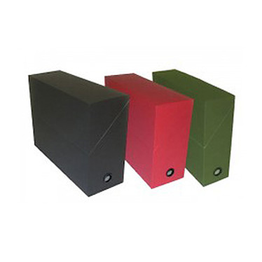 Adine Boîte de transfert 34.5 x 25.8 cm Dos 9 cm - Noir Boite de transfert au format 34.5 x 25.8 cm avec dos de 90 mm