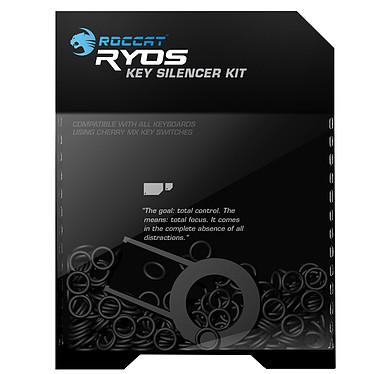 ROCCAT Ryos Key Silencer Kit Lot de 120 joints toriques en caoutchouc pour clavier mécanique à switches Cherry MX
