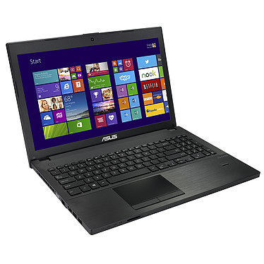 """ASUS PU551LD-XO131G Intel Core i3-4030U 4 Go SSD 128 Go 15.6"""" LED HD NVIDIA GeForce 820M Graveur DVD Wi-Fi AC/Bluetooth Webcam Windows 7 Professionnel 64 bits + Windows 8.1 Pro (garantie constructeur 2 ans)"""