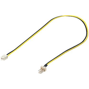 Adaptateur ventilateur 3 broches mâles / 2 broches femelles