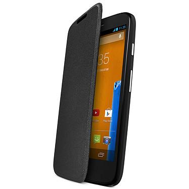 Motorola FlipCover Noir Motorola Moto G et Moto G 4G
