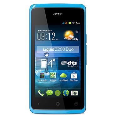 """Acer Liquid Z200 Duo Bleu Smartphone 3G+ Dual SIM avec écran tactile 4"""" sous Android 4.4"""