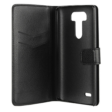 xqisit Etui Wallet Slim Noir pour LG G3