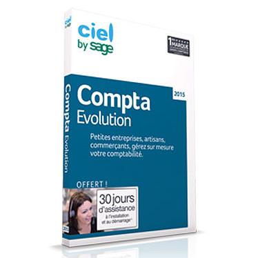 Ciel Compta Evolution 2015 Logiciel de comptabilité (français, WINDOWS)