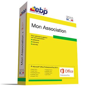EBP Mon Association 2015 + Microsoft Office Professionnel Plus 2013 Logiciel de Gestion d'Association + Suite Bureautique (français, WINDOWS)