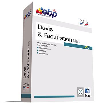 EBP Devis et Facturation Mac 2015 Logiciel de devis et factures (français, Mac)